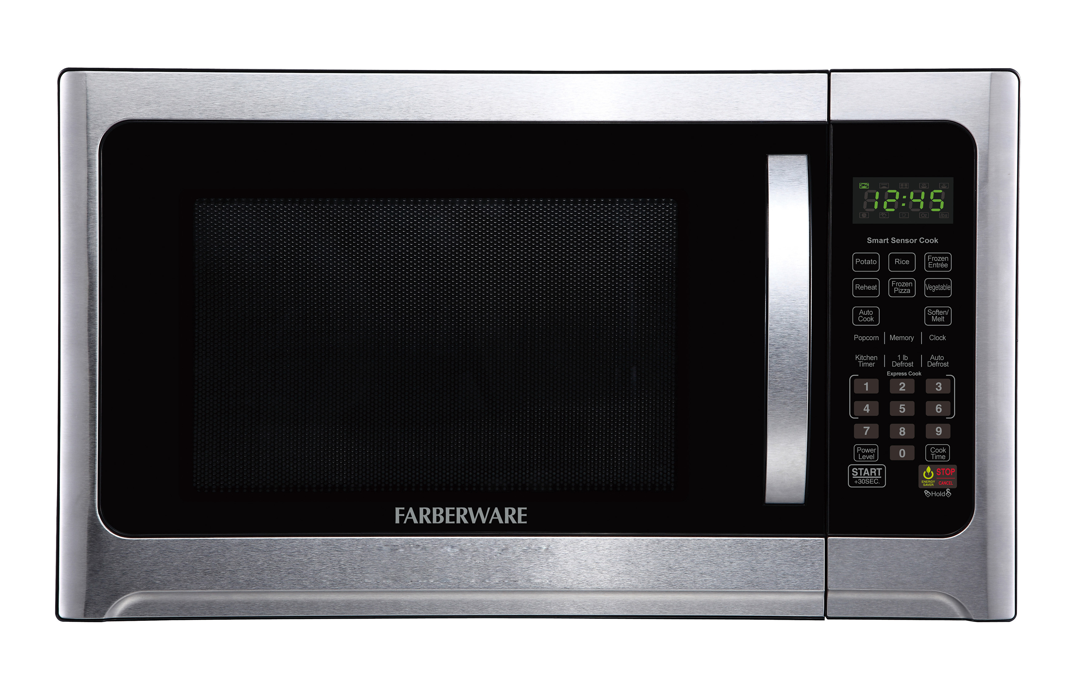 Farberware Pro�FMO12AHTBKE� 1.2 no grill 1100W with Sensor, Green LED