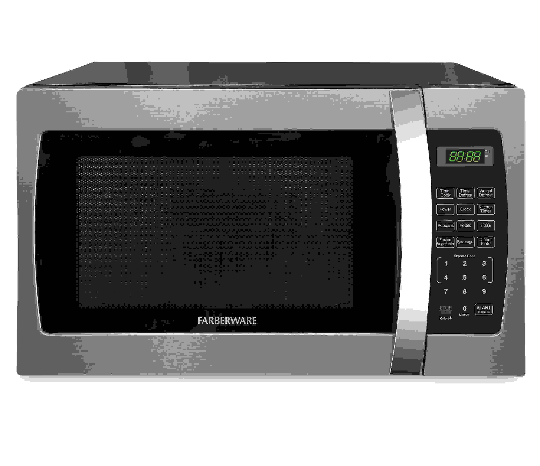 Farberware Professional FMO13AHTBKE 1.3 Cu. Ft 1000-Watt Microwave Oven, Stainless Steel