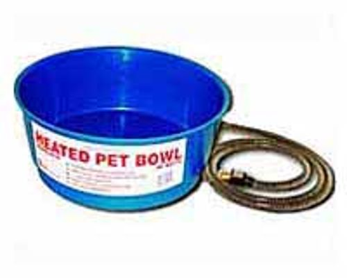 One Quart Heated Pet Bowl (25 Watt) Green