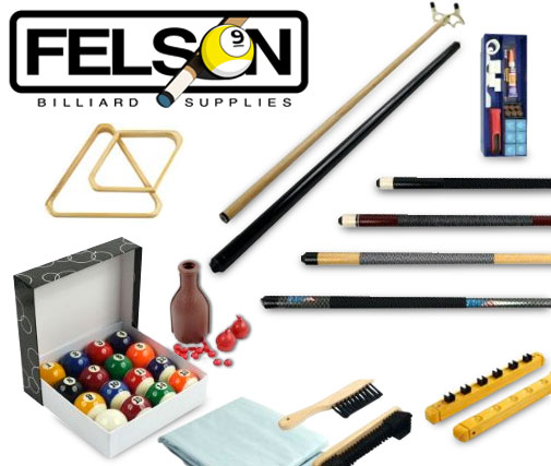 Billiard Accessories Kit - 32 Piece