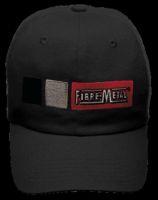 Fibre-Metal+ Black HOMERUN Cotton Baseball Style Bump Cap