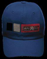 Fibre-Metal+ Blue HOMERUN Cotton Baseball Style Bump Cap