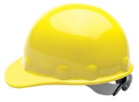 Fibre-Metal+ Yellow SUPEREIGHT+ SWINGSTRAP+ Class E, G or C Type I Thermoplastic Hard Hat With 3-S Swingstrap+ Suspension