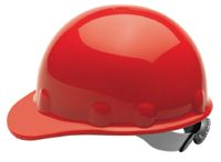 Fibre-Metal+ Red SUPEREIGHT+ SWINGSTRAP+ Class E, G or C Type I Thermoplastic Hard Hat With 3-S Swingstrap+ Suspension
