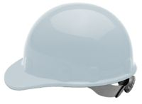 Fibre-Metal+ White SUPEREIGHT+ SWINGSTRAP+ Class E, G or C Type I Thermoplastic Hard Hat With 3-S Swingstrap+ Suspension