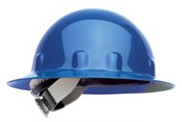 Fibre-Metal+ Blue SUPEREIGHT+ SWINGSTRAP+ Class E, G or C Type I Thermoplastic Hard Hat With Full Brim And 3-S Swingstrap+ Suspe