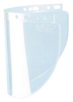 "Fibre-Metal+ Model 4178 8"" X 16 1/2"" X .060"" Clear Propionate Molded Wide Vision Faceshield Window"