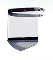 Fibre-Metal+ Model FM-70 Cap Peak-Mounted Bracket With Clear Window And Chin Guard