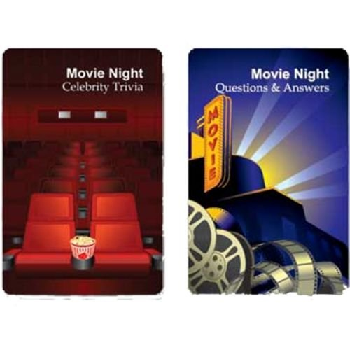 Double Deck Movie Night Playing Cards