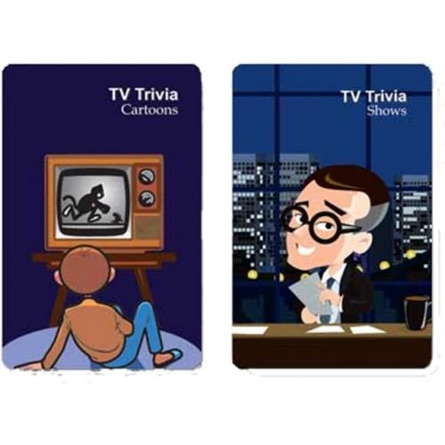 Double Deck TV Trivia Playing Cards