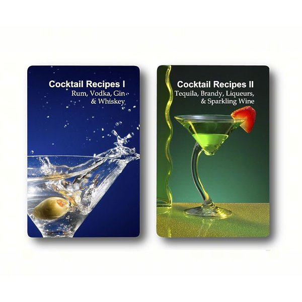 Double Deck Cocktail Recipes Playing Cards