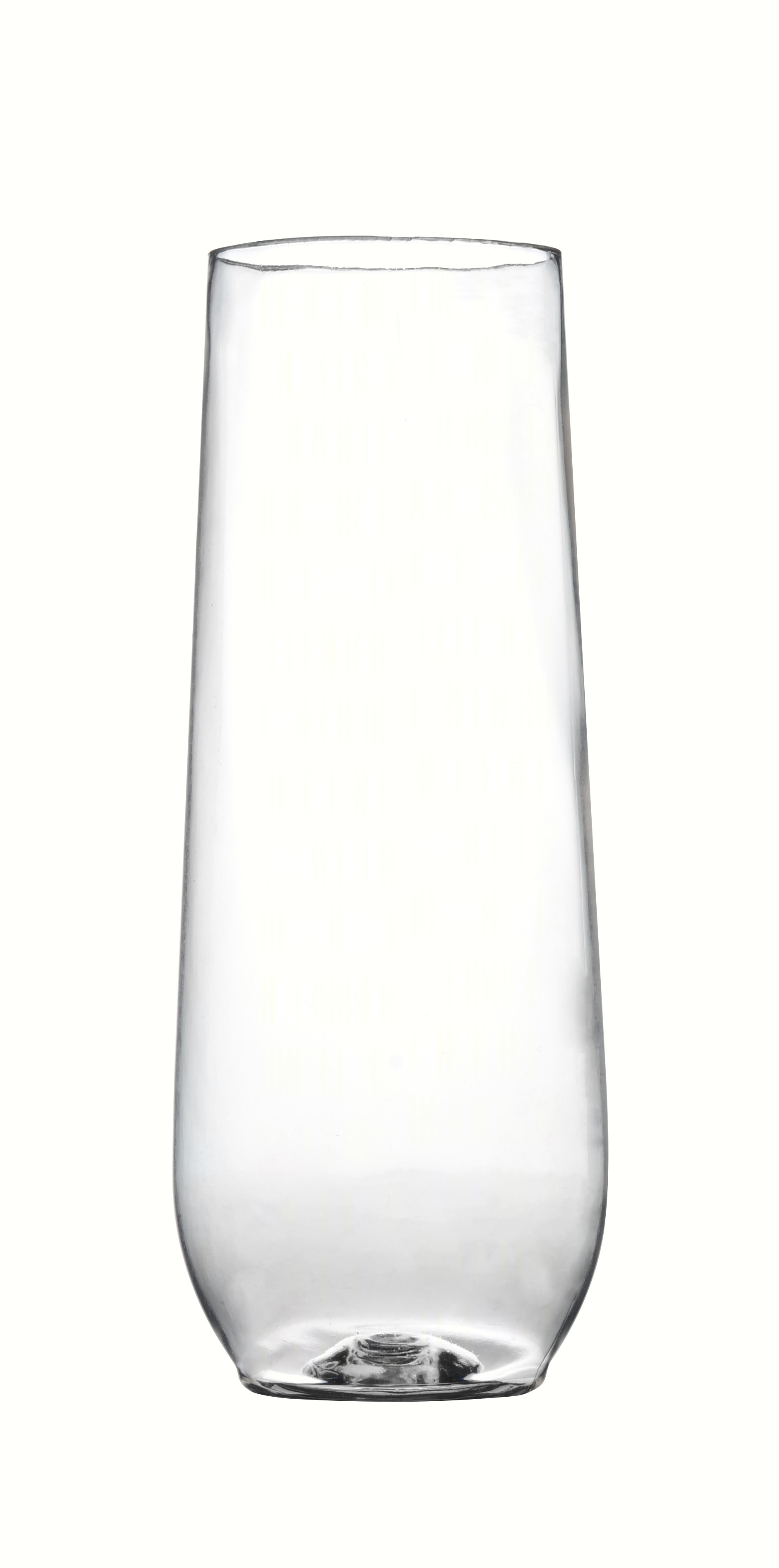 10 oz Stemless Flute - Clear