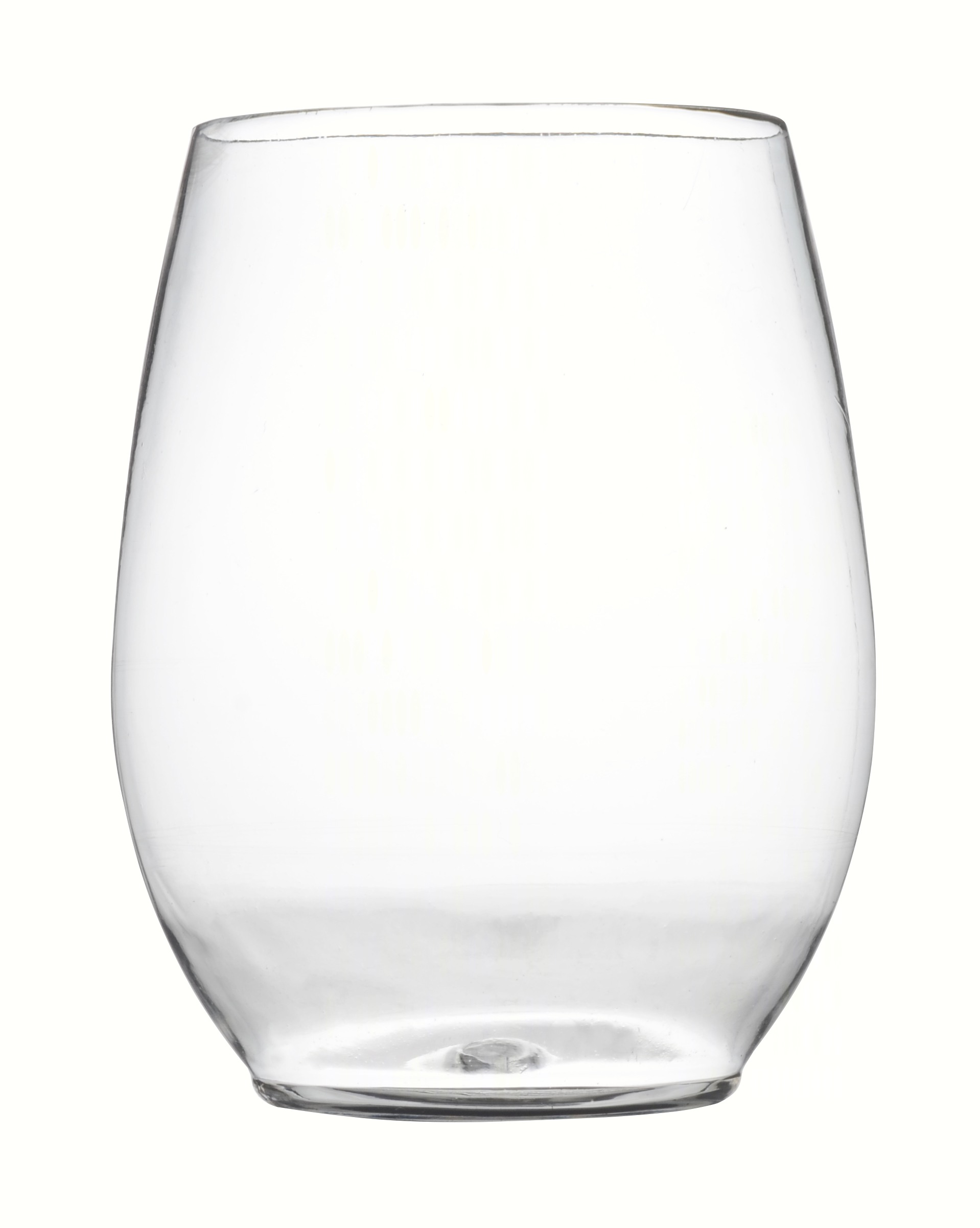 12 oz Stemless Goblet - Clear