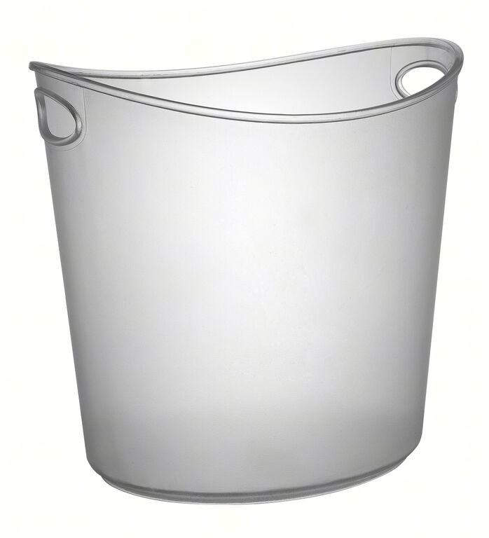 1 Gallon Oval Ice Bucket Cl