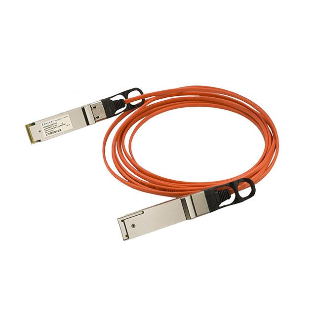 Finisar FCBN410QB1C10 40GB/s QSFP Parallel Active Optical Cable 10M
