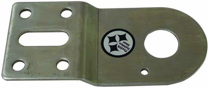 "SS DODGE BRACKET 3/4"" HOLE-NO STUD"