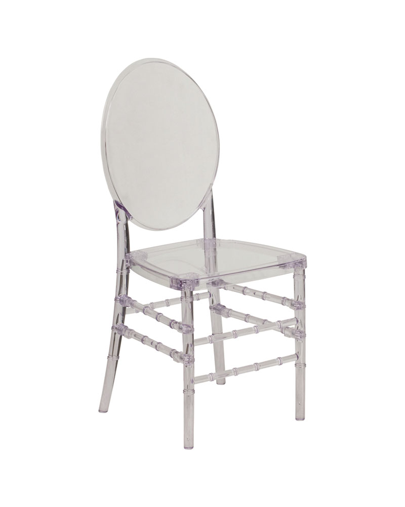 Flash Furniture Home Indoor Flash Elegance Crystal Ice Stacking Florence Chair