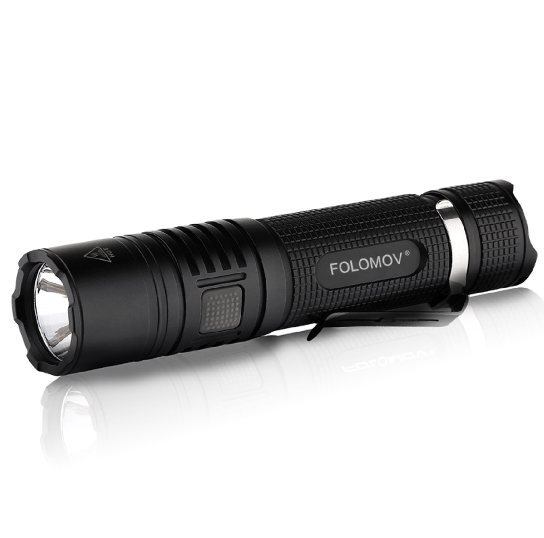 Folomov B4 Flashlight 1200 Lumens