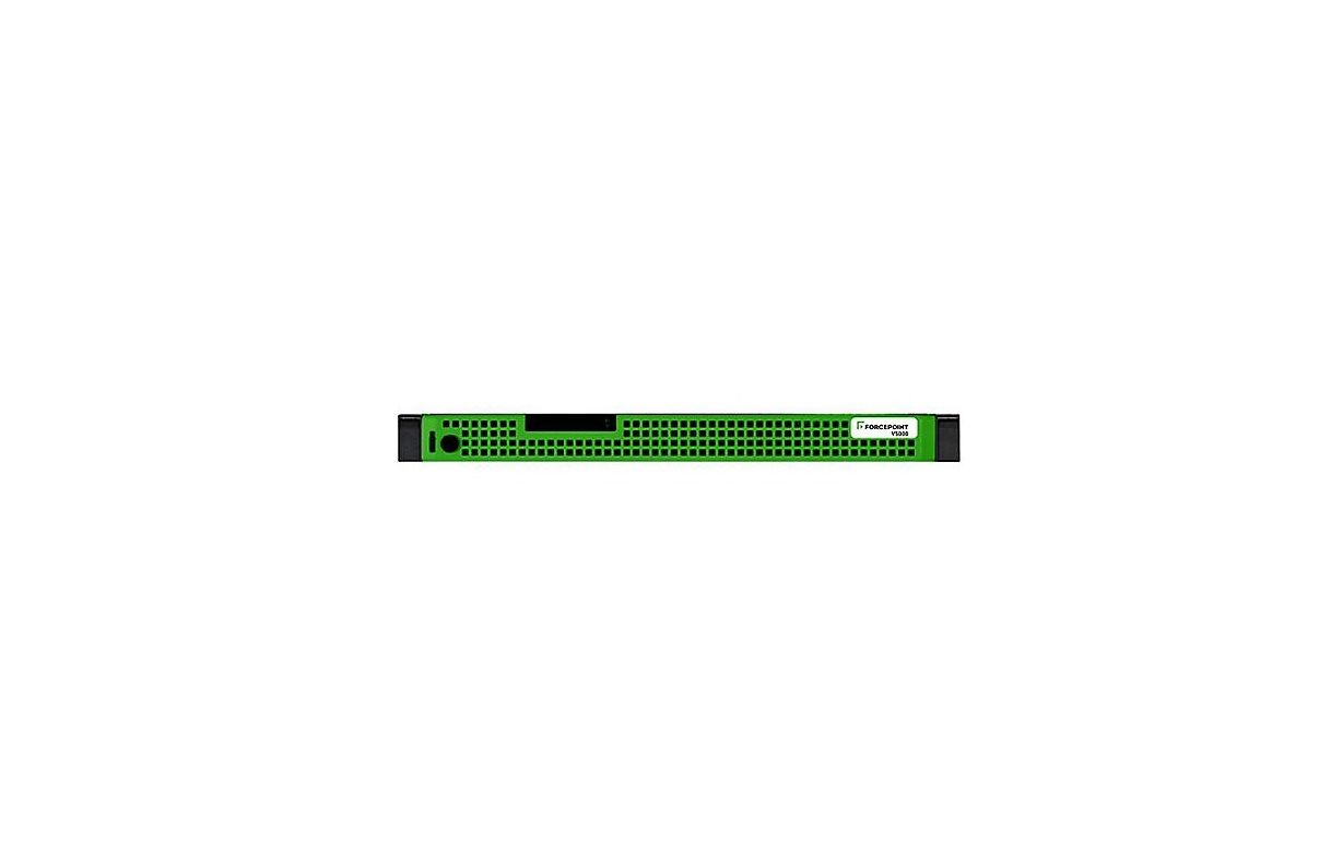 Forcepoint V5000 G4 Intel Xeon E3-1270 3.6GHz 16GB 2x1TB 1U Security Appliance