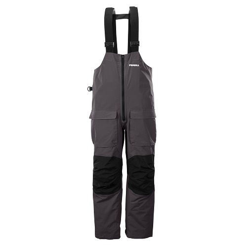 Frabill F2 Surge Rainsuit Bib - Grey - XL