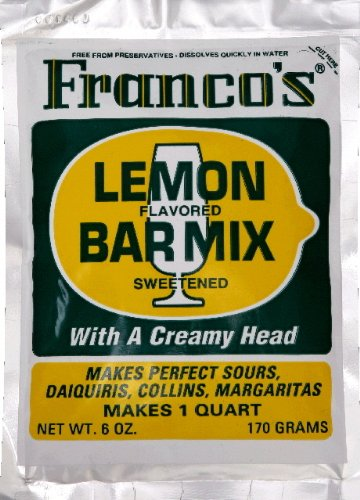 Franco's Lemon Bar Mix (Sweet -N- Sour)