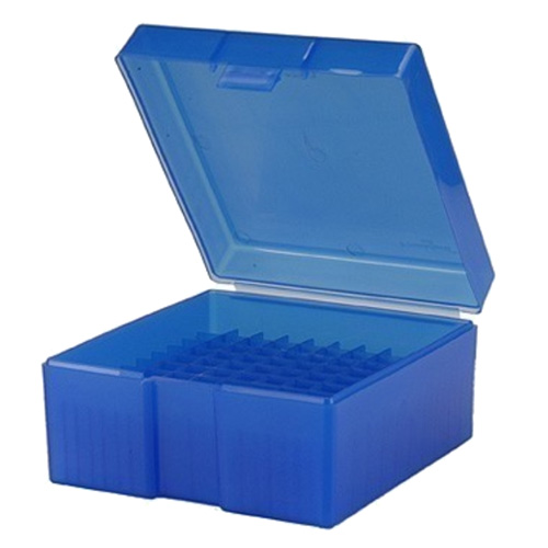 #1009,  243308  100 ct. Ammo Box  Blue