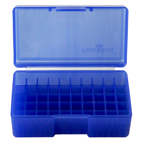 #503,  38/357 50 ct. Ammo Box  Blue
