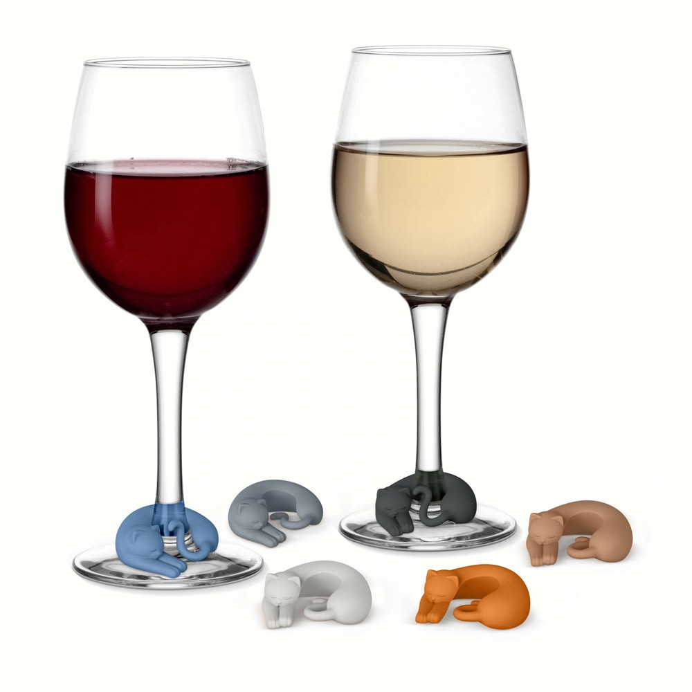 Wine Lives - Kitty Wine Markers