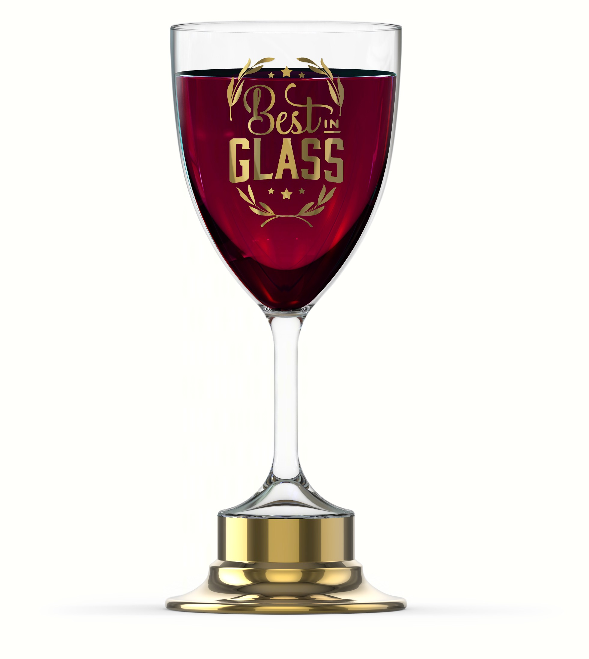 Best in Glass Trophy Wine Glass