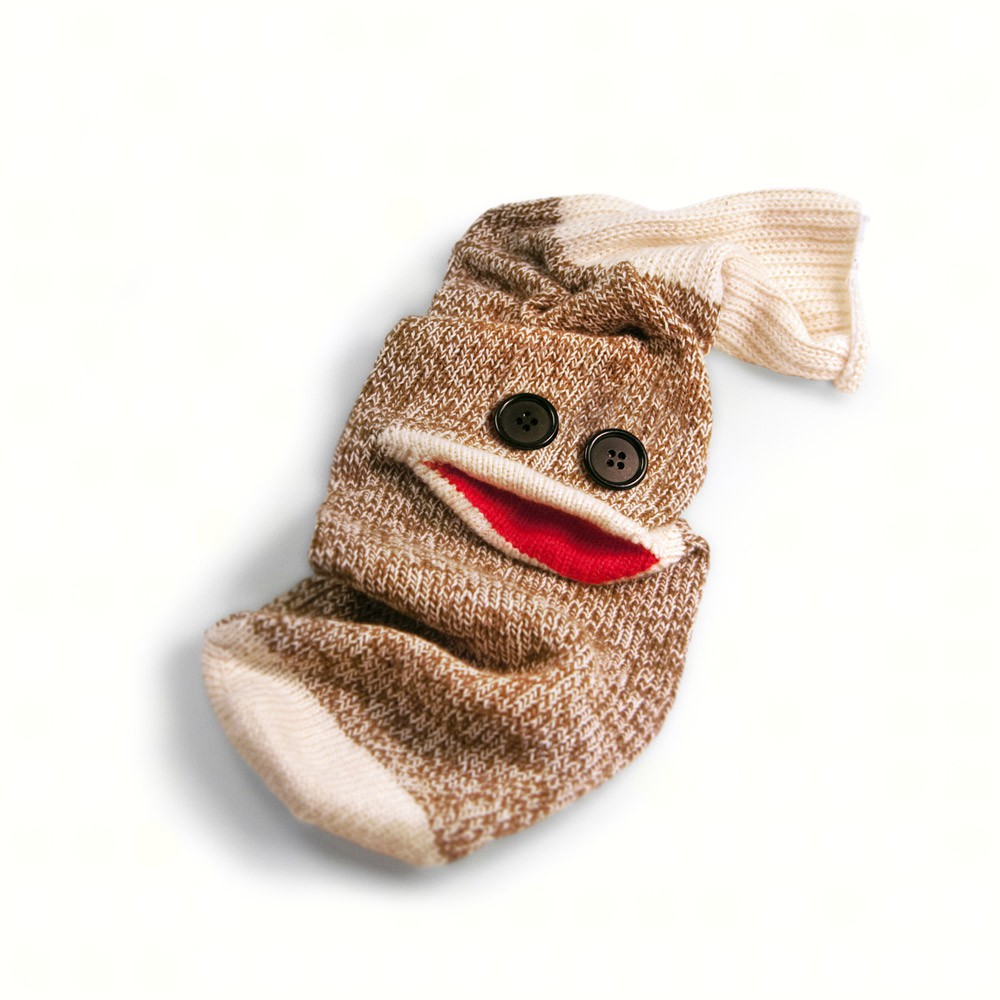 Wine Monkey Bottle Sock