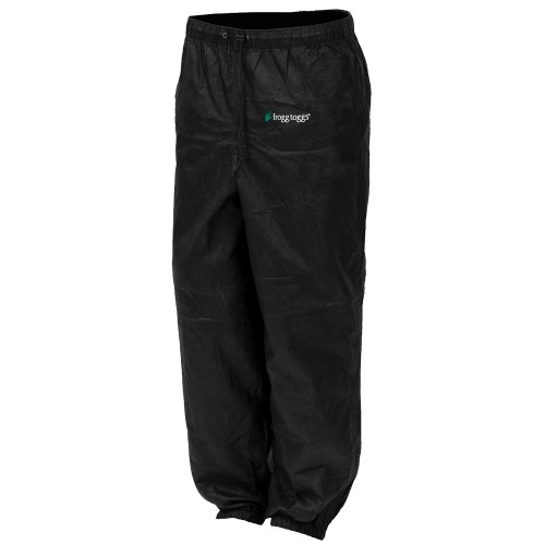 Frogg Toggs Pro Action Pant Black M PA83122-01MD