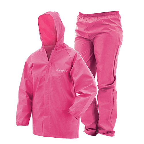 Youth Ultra Lite Rainsuit Pink SM