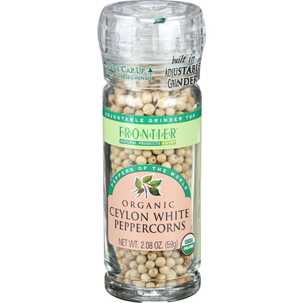 Frontier Herb - Organic White Peppercorn ( 6 - 2.08 OZ)