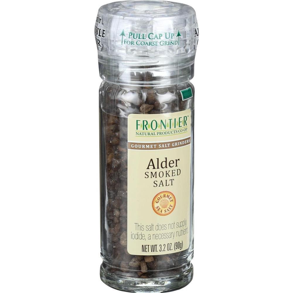 Frontier Herb - Alder Smoked Salt Grinder ( 6 - 3.2 OZ)
