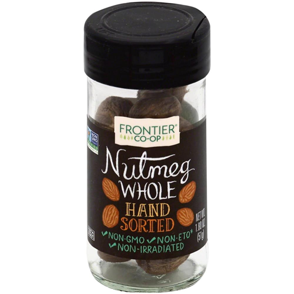 Frontier Herb - Hand Sorted Whole Nutmeg ( 12 - 1.80 OZ)