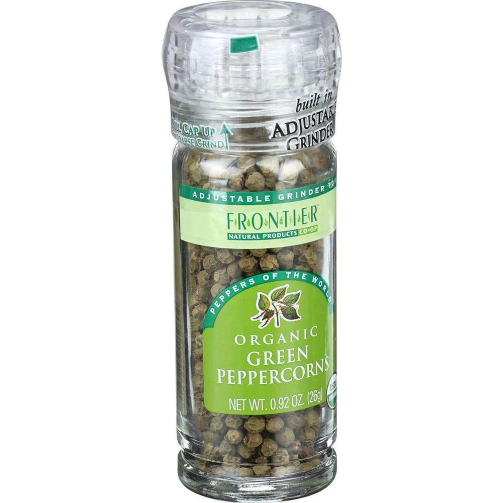 Frontier Herb - Organic Whole Green Peppercorn ( 6 - .92 OZ)