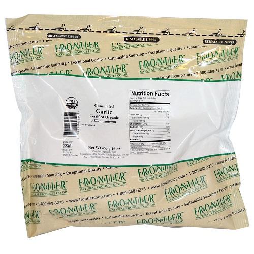 Frontier Herb Granulated Garlic (1x1lb)