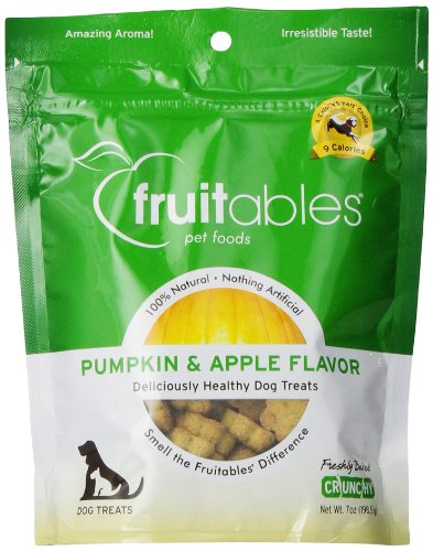 Healthy Dog Treats - Pumpkin & Apple Flavor ( 8 - 7 OZ )