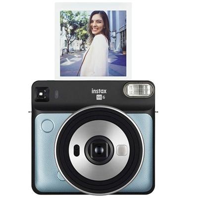 SQ6 Metallic Blue Inst Camera