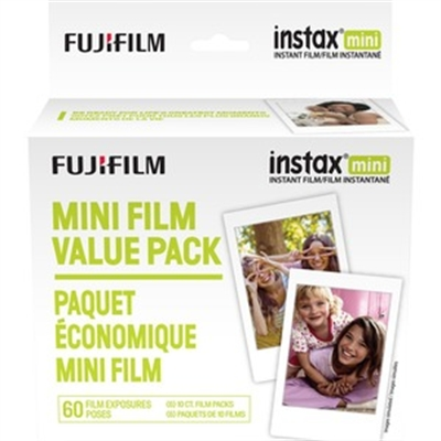 Fujifilm Instax Mini Film-60-W