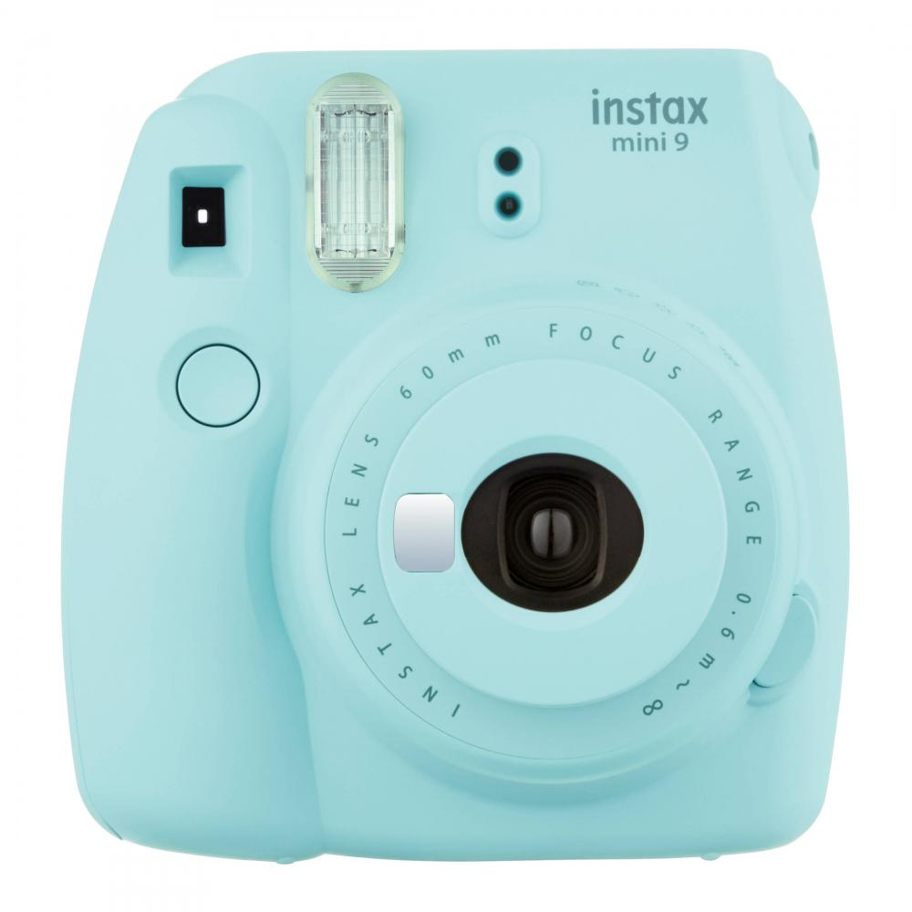 FujiFilm instax mini 9 Instant Film Camera, Ice Blue