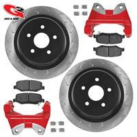 G2 Axle and Gear G2 CORE BBK - Rear Oversized Rotors, caliper brackets, and performance brake pads 79-2052-1