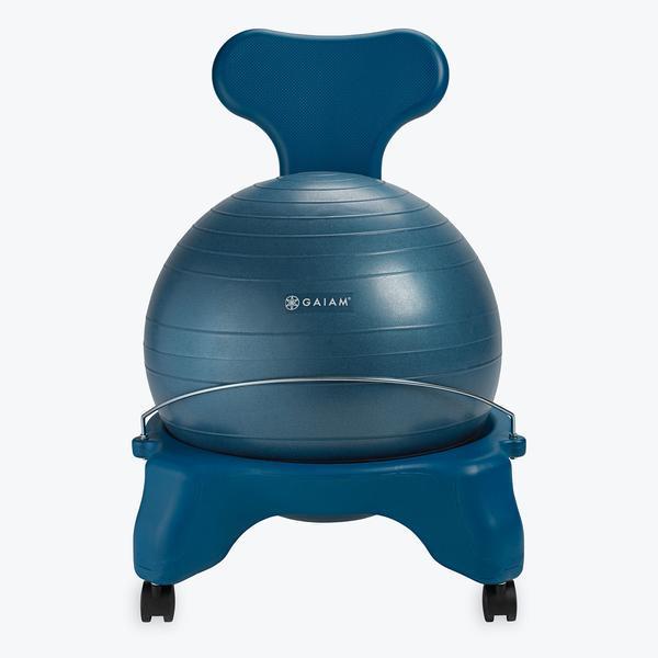 Gaiam Classic Balance Ball Chair 52cm Ocean