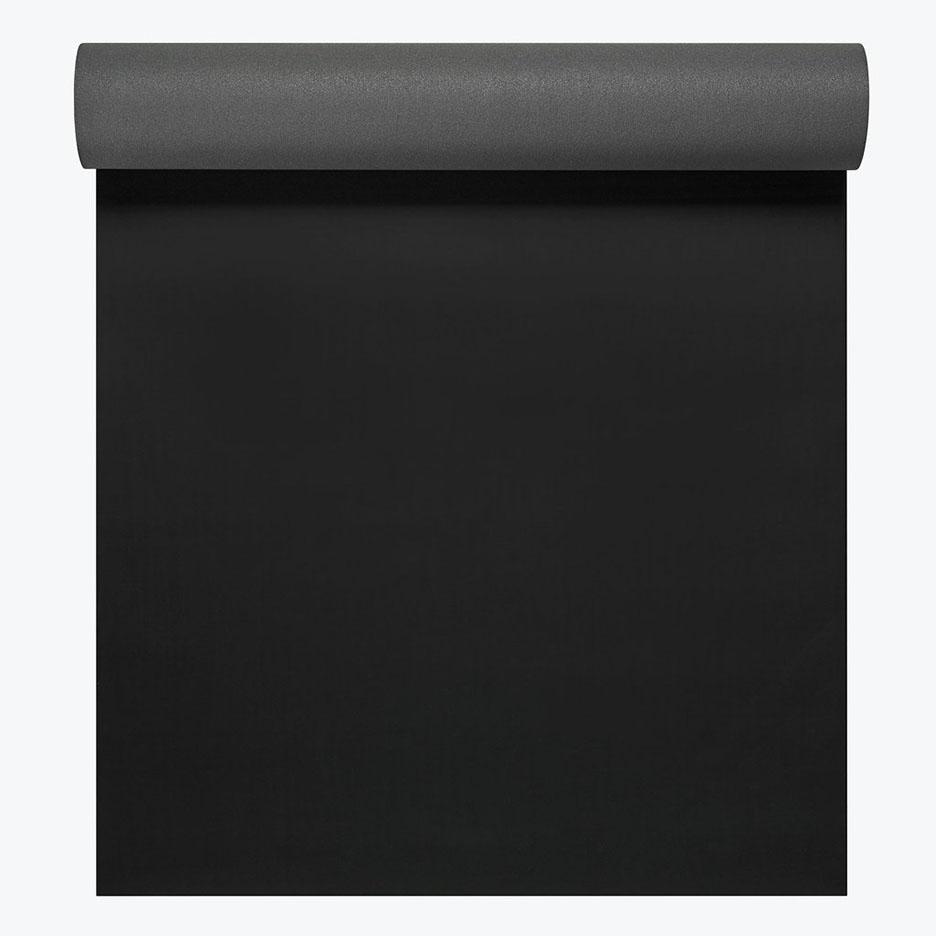 GAIAM ATHLETIC 2 GRIP MAT 5MM BLACK/GRAY
