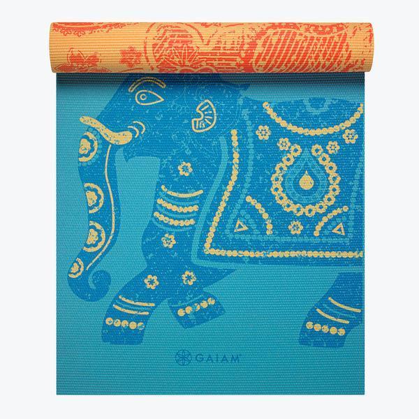 GAIAM ELEPHANT REVERSIBLE YOGA MAT 5MM