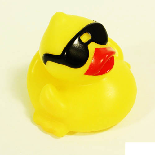 Rubber Duck, Cool Duck w/Sunglasses
