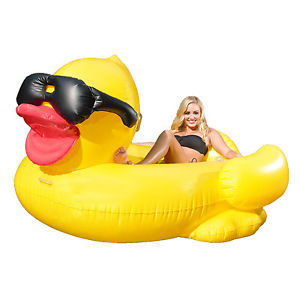 Inflatable 5ft Derby Duck, Promotional Use