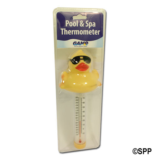 Thermometer, Floating Derby Duck