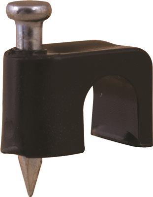 COAX STRAP BLACK 1/4 IN. MASONARY