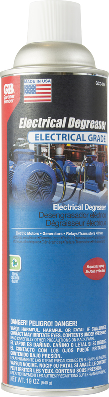 GCD-004 ELECTRICAL DEGREASER